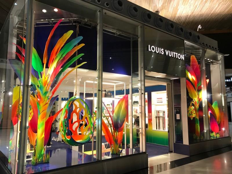 Louis Vuitton Fluorescent Flora
