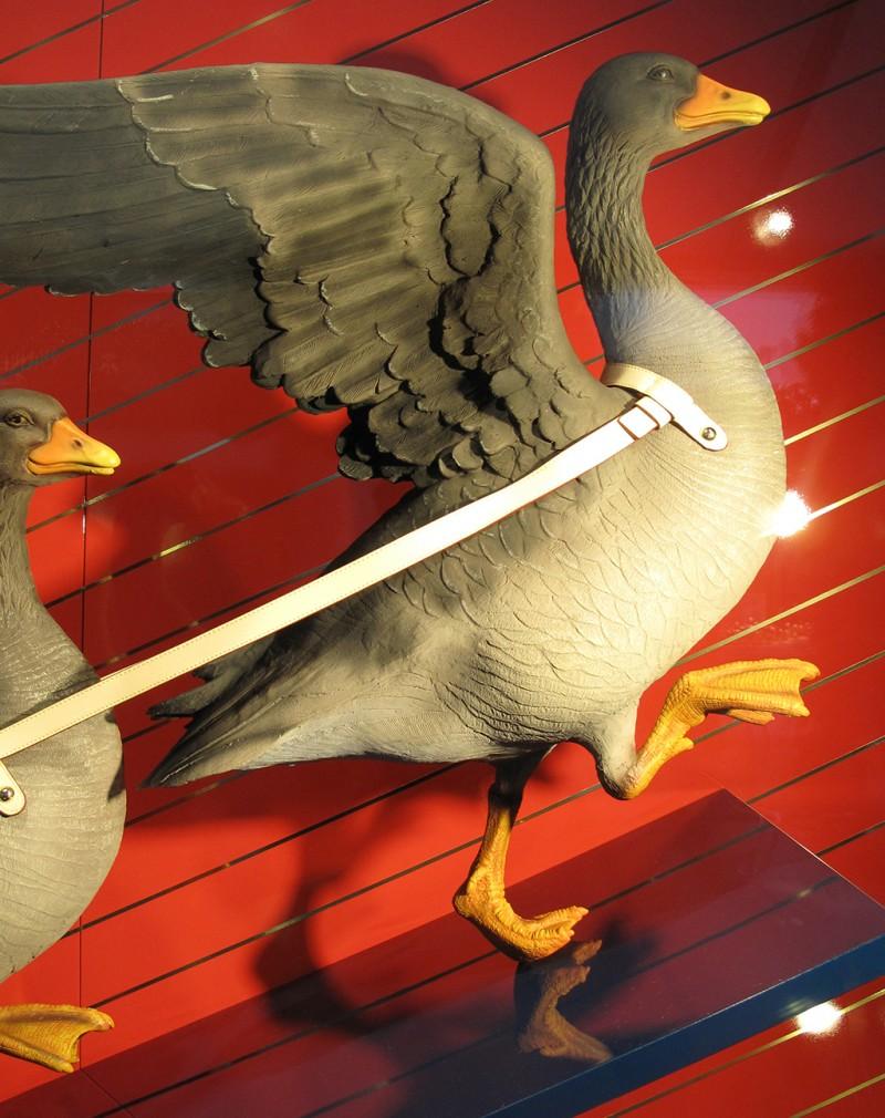 Louis Vuitton Christmas Geese